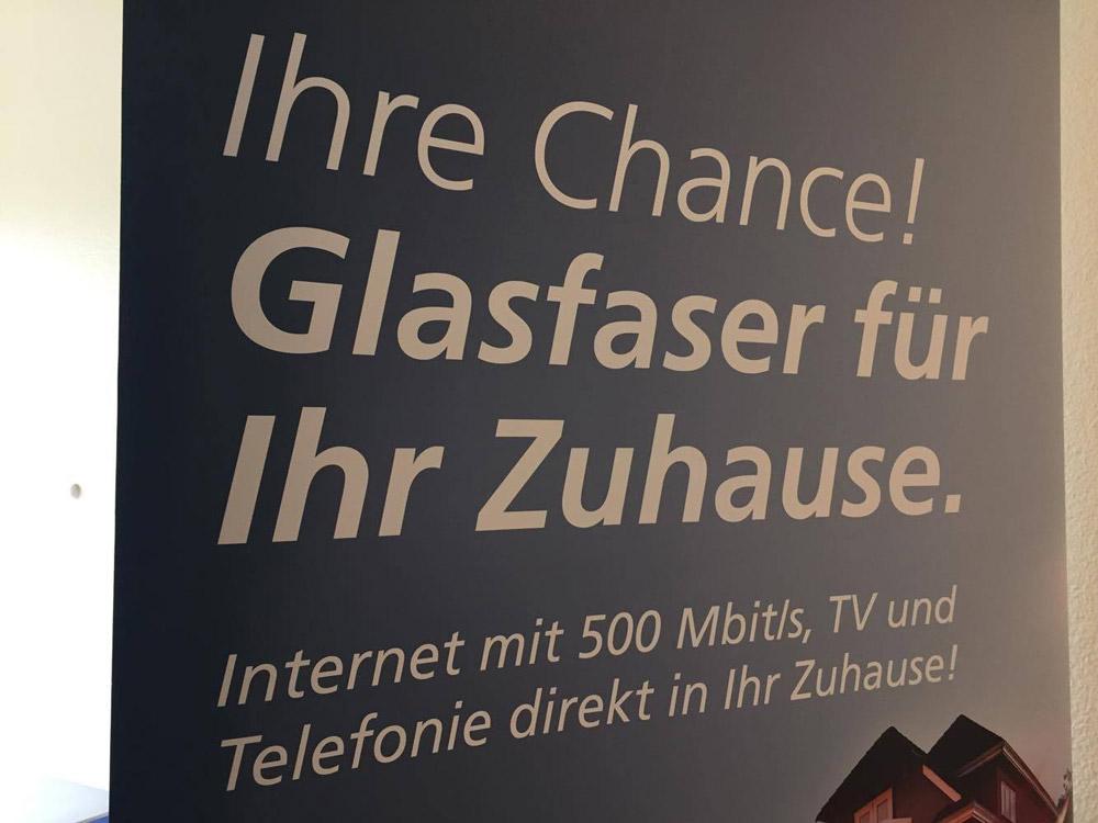 Plakat Breitband